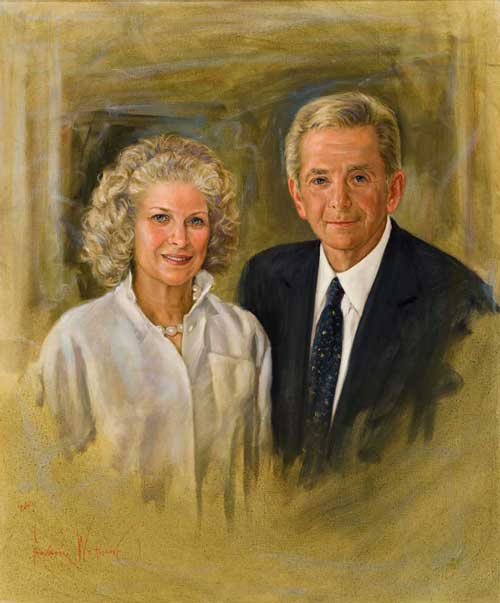 Portrait of Shelton and Carol Gorelick