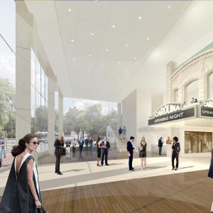 Carolina Theatre Interior Architectural Rendering