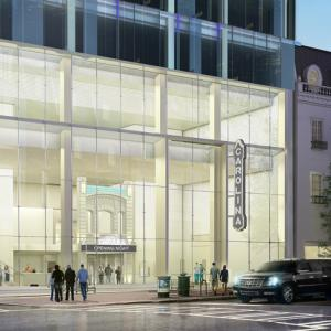 Carolina Theatre Exterior Rendering