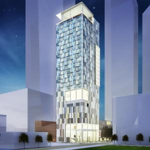 Proposed Hotel Rendering