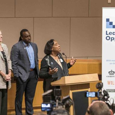 Leading on Opportunity announcement