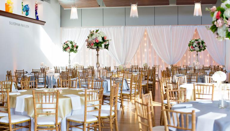 Wedding in Silverman Pavilion